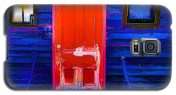 Red Door Harbor Galaxy S5 Case by Rick Bragan