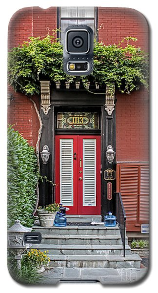Galaxy S5 Case featuring the photograph Red Door by Richard Lynch