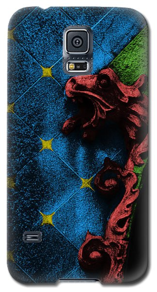 Decorative Galaxy S5 Case - Red Dragon by Emme Pons