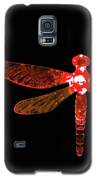Red Dragonfly Galaxy S5 Case
