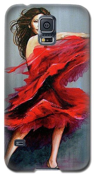 Red Dress Galaxy S5 Case