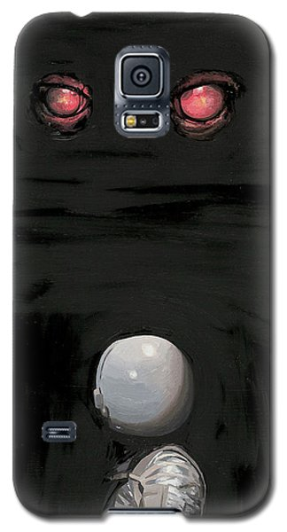 Red Eyes Galaxy S5 Case by Scott Listfield
