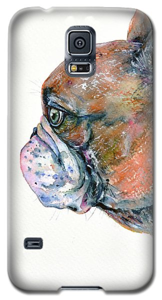 Red Fawn Frenchie Galaxy S5 Case