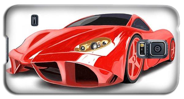 Red Ferrari Galaxy S5 Case
