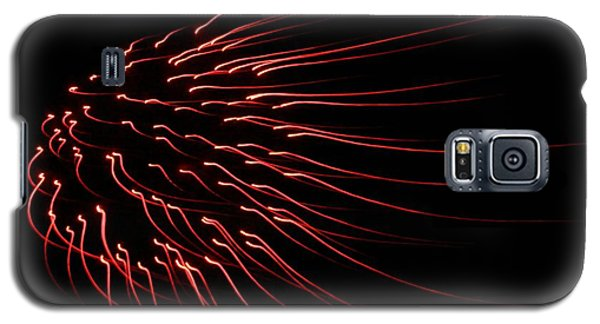 Galaxy S5 Case featuring the photograph Red Firework  by Chris Berry