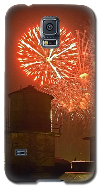 Red Fireworks Galaxy S5 Case