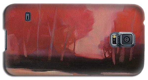 Red Flair Galaxy S5 Case
