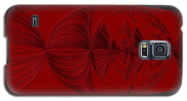Red And Black Design. Art Galaxy S5 Case