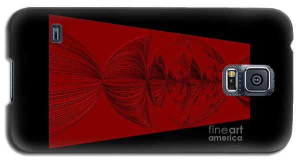 Red And Black Design Galaxy S5 Case