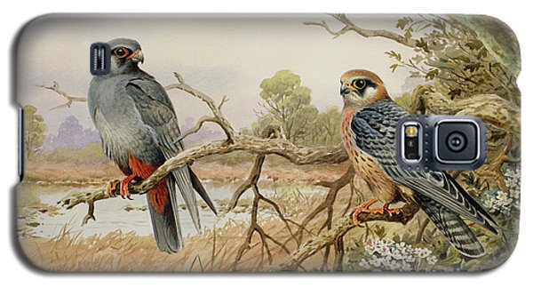 Red-footed Falcons Galaxy S5 Case by Carl Donner