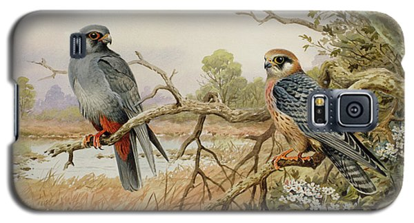 Red-footed Falcons Galaxy S5 Case