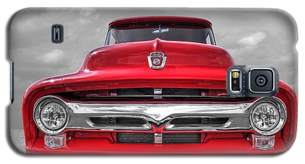 Red Ford F-100 Head On Galaxy S5 Case