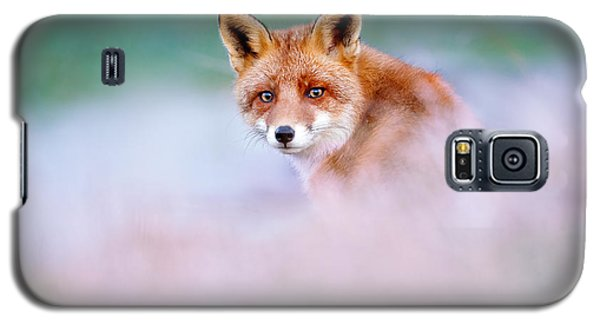 Red Fox In A Mysterious World Galaxy S5 Case by Roeselien Raimond