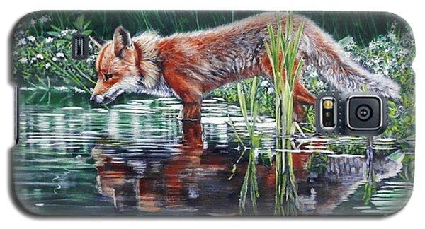 Red Fox Reflecting Galaxy S5 Case