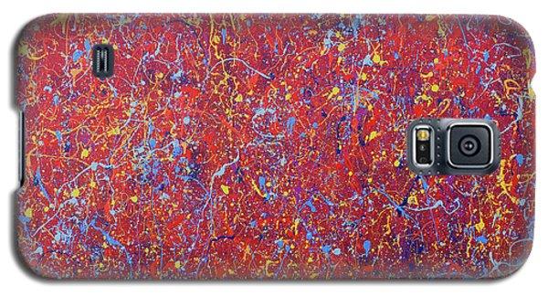 Red Galaxy Galaxy S5 Case