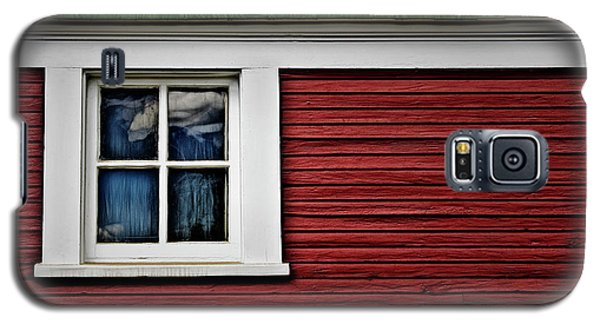 Galaxy S5 Case featuring the photograph Red Green by Brad Allen Fine Art