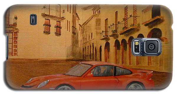 Red Gt3 Porsche Galaxy S5 Case