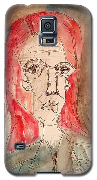 Red Headed Stranger Galaxy S5 Case by A K Dayton