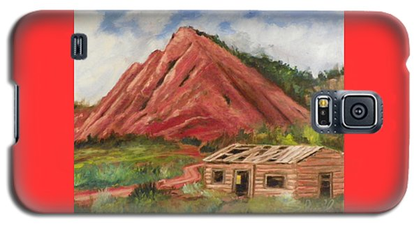 Red Hill And Cabin Galaxy S5 Case