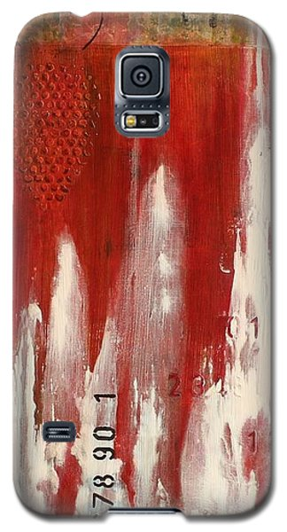 Red Holiday Galaxy S5 Case