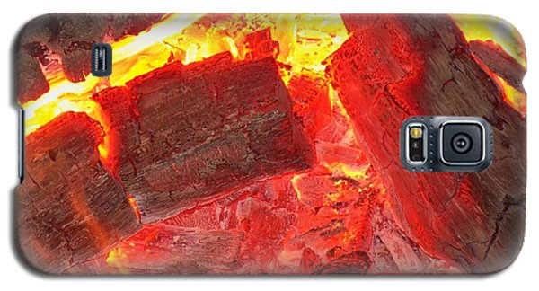 Galaxy S5 Case featuring the photograph Red Hot by Betty Northcutt