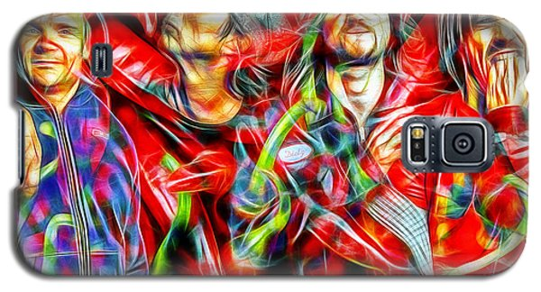Red Hot Chili Peppers In Color II  Galaxy S5 Case by Daniel Janda