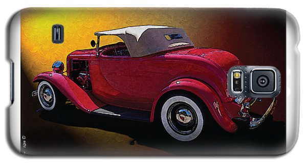 Galaxy S5 Case featuring the photograph Red Hot Rod by Kenneth De Tore