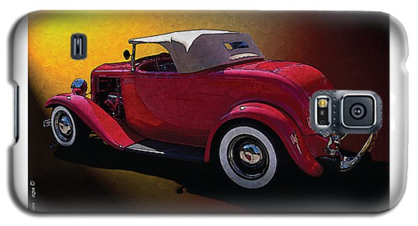 Red Hot Rod Galaxy S5 Case by Kenneth De Tore