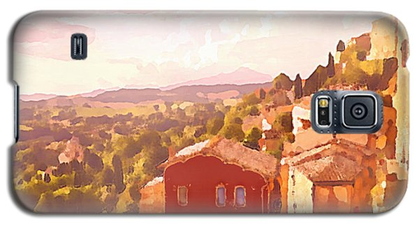 Red House On A Hill Galaxy S5 Case