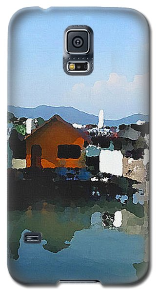 Red House On The Water Galaxy S5 Case