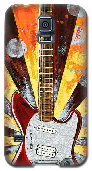 Red Jag-stang Galaxy S5 Case