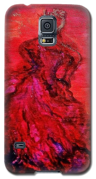 Red Lady Galaxy S5 Case