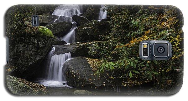 Red Leaf Waterfalls Galaxy S5 Case