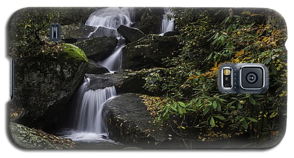Red Leaf Waterfalls Galaxy S5 Case