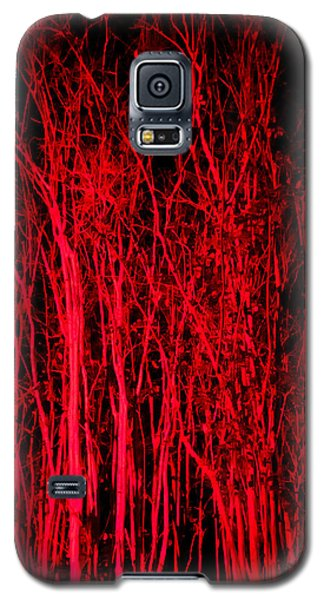 Galaxy S5 Case featuring the digital art Red Magic by Doug Kreuger