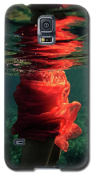 Red Mermaid Galaxy S5 Case