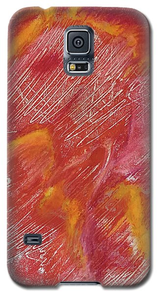 Red Monoprint One Galaxy S5 Case