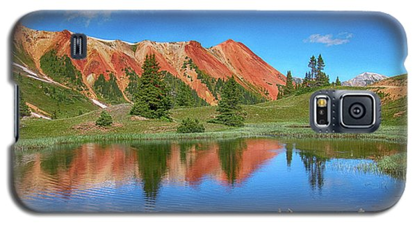 Red Mountain-grey Copper Gulch Galaxy S5 Case