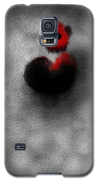 Galaxy S5 Case featuring the digital art Red Mouse by James Lanigan Thompson MFA