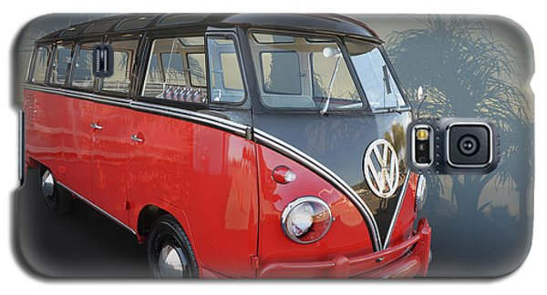Galaxy S5 Case featuring the photograph Red N Black Kombi by Bill Dutting