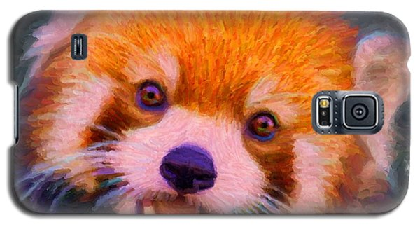 Red Panda Cub Galaxy S5 Case