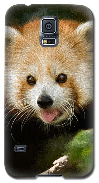 Red Panda Galaxy S5 Case by Lana Trussell