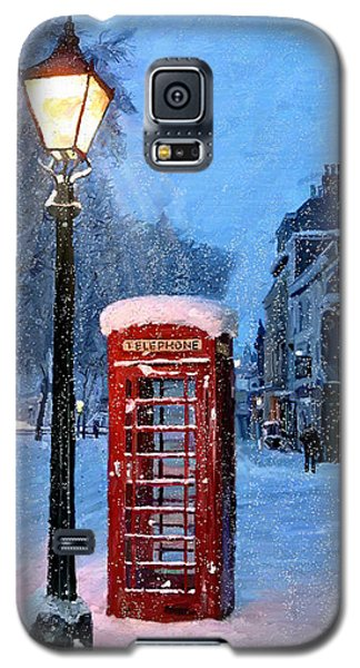 Red Phone Box Galaxy S5 Case