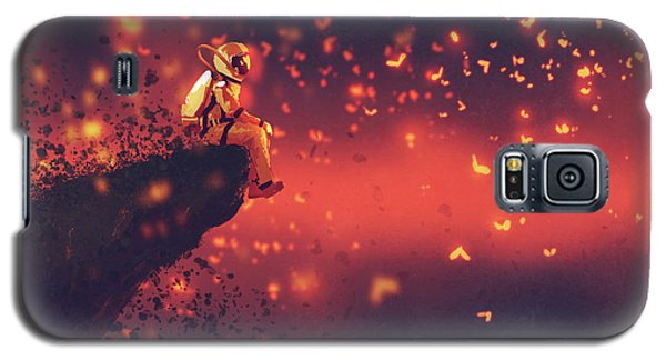 Red Planet Galaxy S5 Case