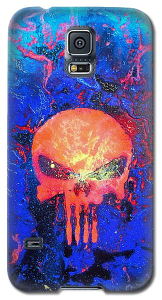 Red Punish Galaxy S5 Case by Justin Moore