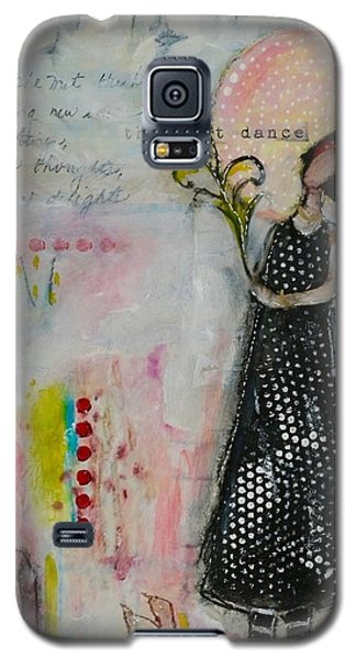 Red Rain Boots Galaxy S5 Case by Sharon Furner