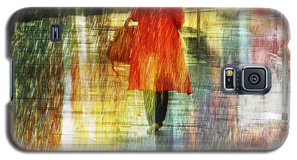 Galaxy S5 Case featuring the photograph Red Rain Day by LemonArt Photography