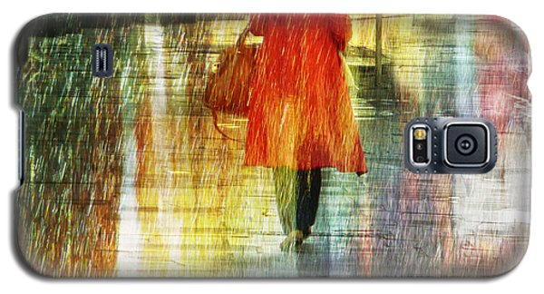 Red Rain Day Galaxy S5 Case