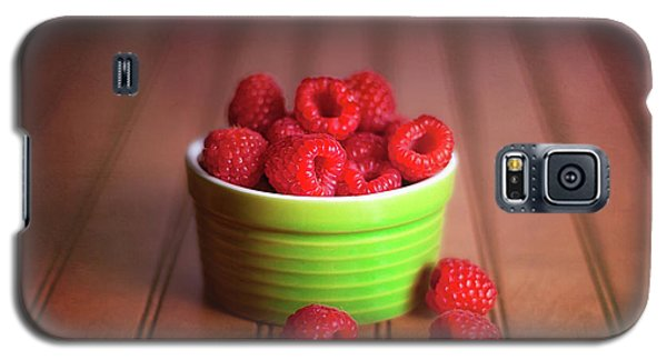 Red Raspberries Still Life Galaxy S5 Case