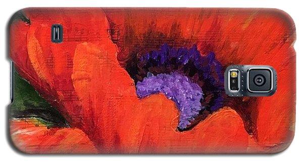 Red Rhapsody Galaxy S5 Case